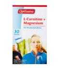 Doplněk stravy L-Carnitine s hořčíkem Optisana