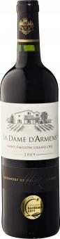 Víno červené Saint - Émilion Grand Cru 2008 La Dame d'Armens
