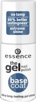 Lak na nehty gelový krycí Gel nails Clear gel top coat Essence