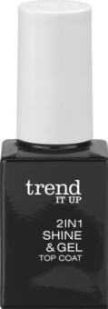 Lak na nehty Shine & gel 2v1 Trend IT UP