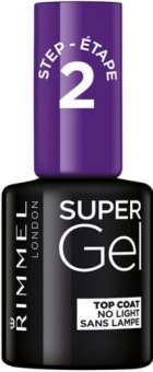 Lak na nehty SuperGel Top Coat Rimmel