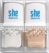 Laky na francouzskou manikúru Stylezone s.he
