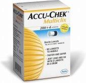 Lancety pro odběr krve Multiclix Accu-Chek Roche