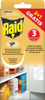 Lapač potravinových molů Raid