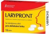 Tablety pro zklidnění krku se šalvějovou silicí Larypront