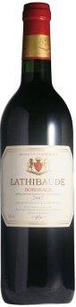 Víno červené Bordeaux Lathibaude