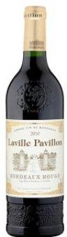 Víno červené Bordeaux Laville Pavillon