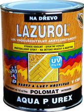 Lazura na dřevo Aqua P Urex Polomat Lazurol