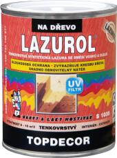 Lazura na dřevo Topdecor Lazurol