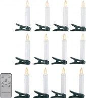LED svíčky na vánoční stromek K-Classic
