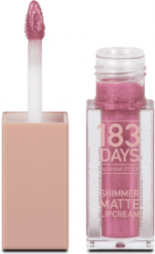 Lesk na rty Shimmer Matte 183 DAYS by trend IT UP