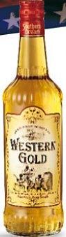 Likér s příchutí whisky Western Gold