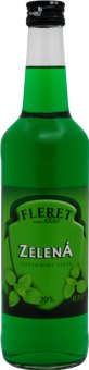 Likér zelená Fleret