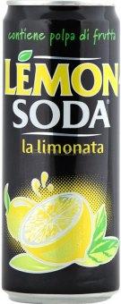 Limonáda Soda Contiene Polpa di Frutta