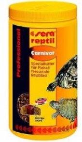 Krmivo lisované pro vodní želvy  Reptil Professional Carnivor Sera