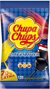 Lízátko barvicí Chupa Chups