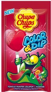 Lízátko Color & Dip Chupa Chups