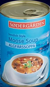 Polévka losí Sodergärden - konzerva