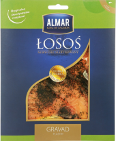 Losos marinovaný uzený Almar