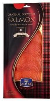 Losos skotský uzený s whisky Almar