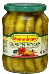 Loupané okurky Mamminger