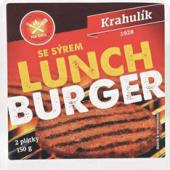 Lunchburger se sýrem Krahulík