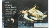 Madagaskarské tygří krevety mražené bio Marks & Spencer