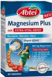 Doplněk stravy Magnesium Plus Abtei