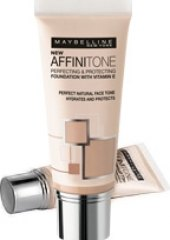 Balíček make up Affinitone + pudr Maybelline