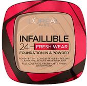 Make up pudrový Infaillible 24H Fresh Wear L'Oréal