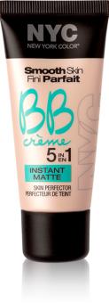 BB creme 5v1 Instant Matte Smooth skin NYC