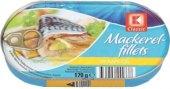 Makrela filety v oleji K-Classic