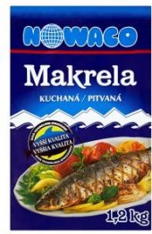 Makrela kuchaná mražená Nowaco