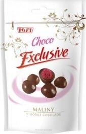 Maliny v čokoládě Choco Exclusive Poex