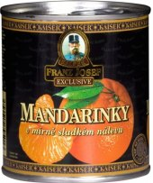 Mandarinky Franz Josef