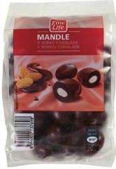 Mandle v čokoládě Fine Life