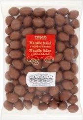 Mandle v čokoládě Tesco