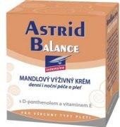 Krém pleťový mandlový Balance Astrid