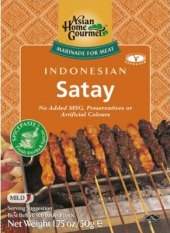 Marináda Indonesian Satay Asian Home Gourmet