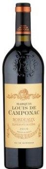 Víno červené Bordeaux Marquis Louis de Camponac