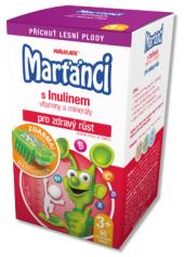 Vitamíny dětské s Inulinem Marťánci