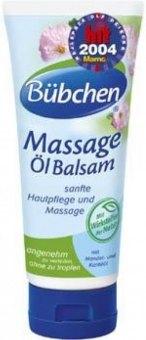 Masážní balzám s olejem dětský Bübchen