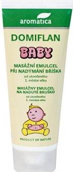Masažní emulgel dětský při nadýmání Domiflan Baby Aromatica