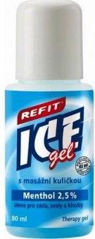 Masážní gel roll-on Refit