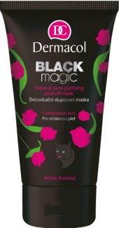 Maska detoxikační slupovací Black Magic Dermacol