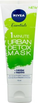 Maska pleťová 1 Minute Urban Detox Essentials Nivea