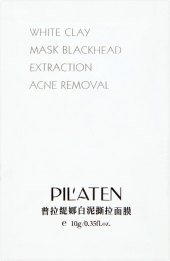 Maska pleťová s bílým jílem Pilaten
