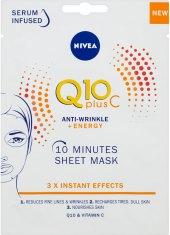 Maska textilní pleťová Q10 Nivea