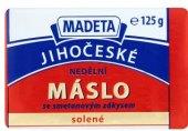 Máslo Jihočeské nedělní solené Madeta