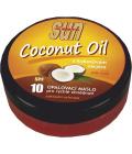 Máslo na opalování s kokosovým olejem OF 10 Sun Vivaco